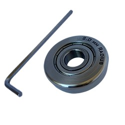image of the 2.00mm bending roller and tool